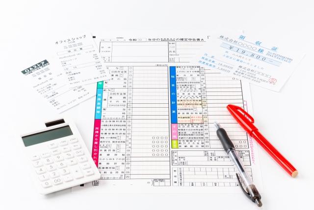 個人事業主や副業で確定申告をする人必見!領収書の書き方と必要性について